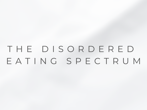 The Disordered Eating Spectrum