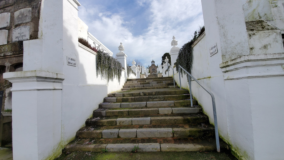 Xixón pt 2, Cemetery of El Sucu, Ciares & Update (English)