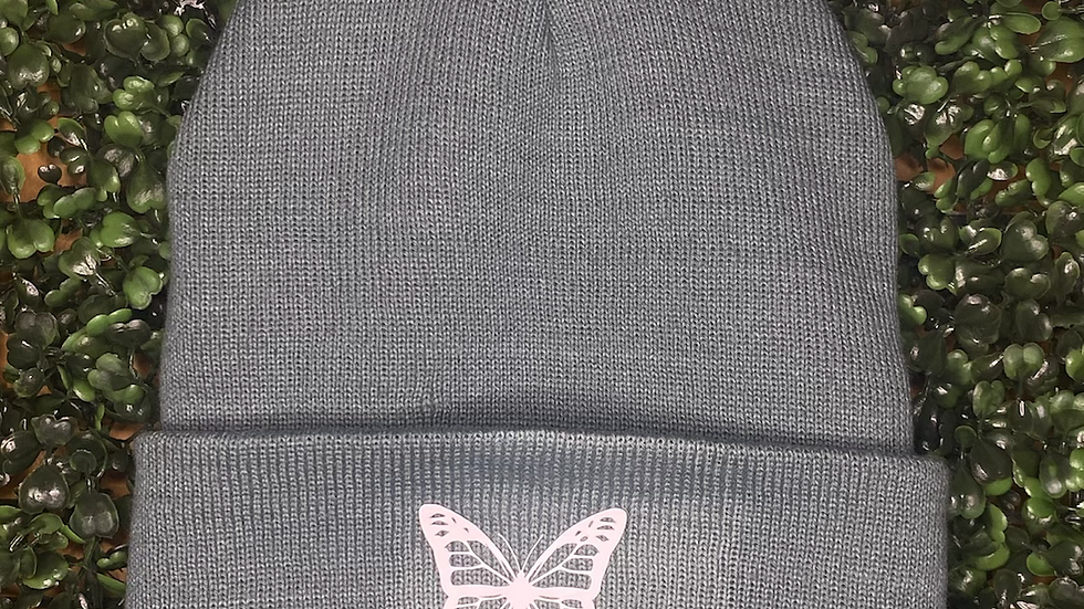 Butterfly Glow in the Dark Beanie