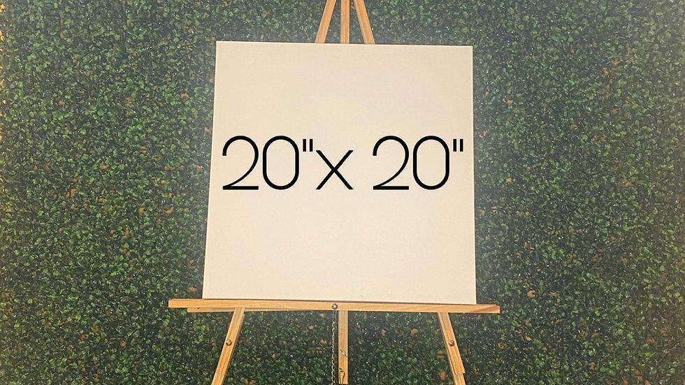 "PRE-ORDER 20""x 20"" Custom Order"
