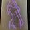 """Thumbnail: PRE-ORDER Female body outline (16x20"""")"""