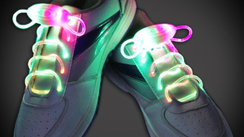 LED Pair of Shoelaces