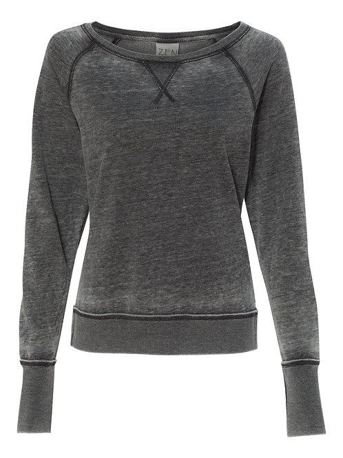 J. America Zen Fleece Women's Sweatshirt