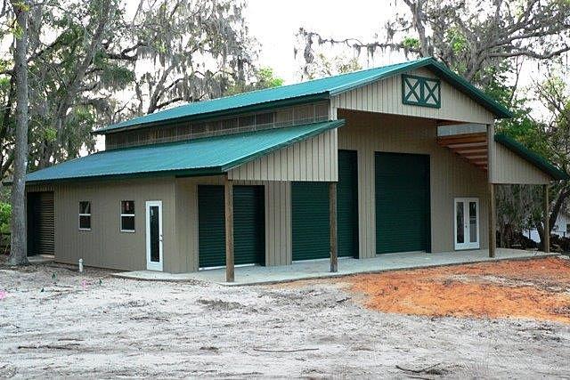 Timbercraft cornerstone building company for Rv garage homes florida