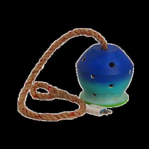 hanging pot lamp