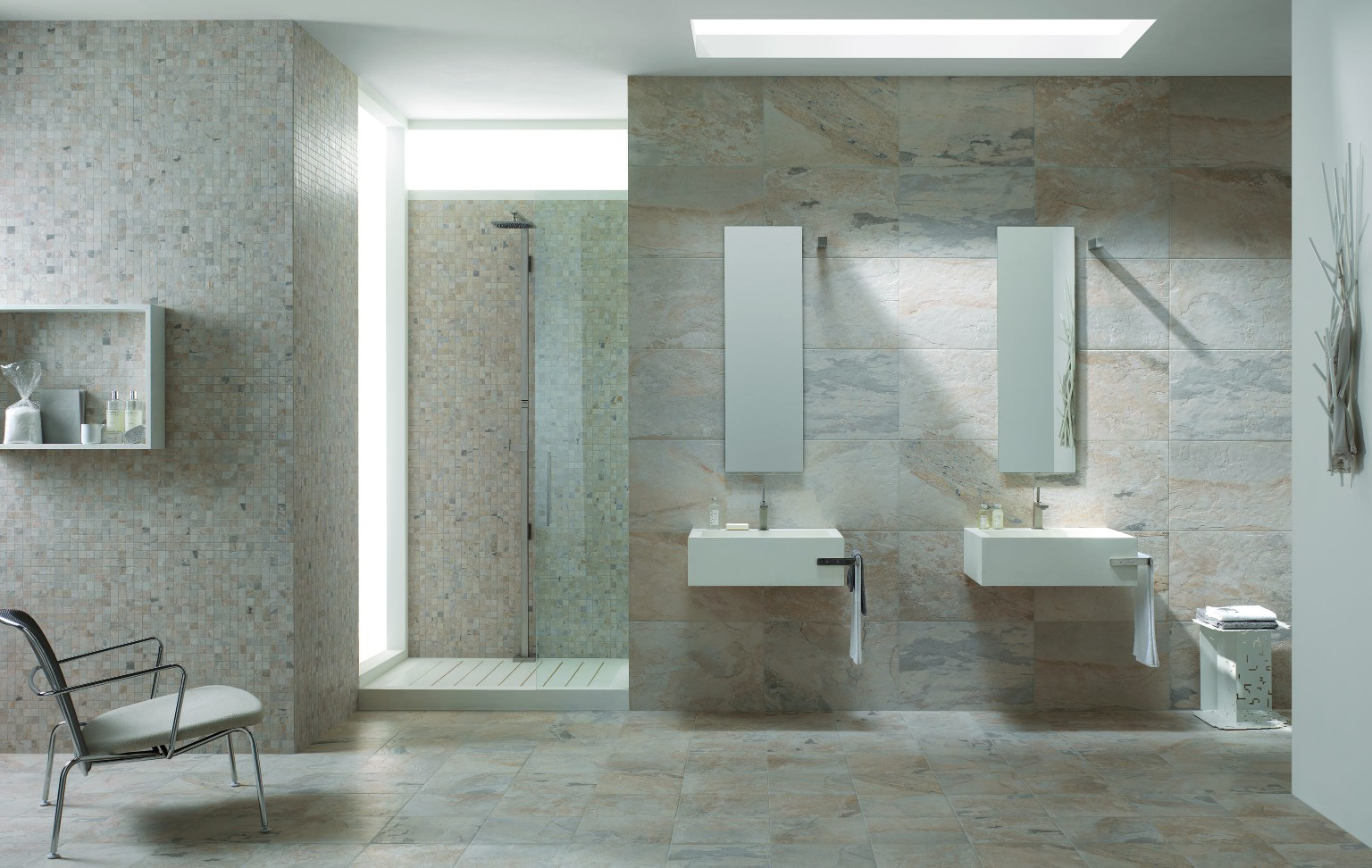 Amb Bagno Natural Slate Winter