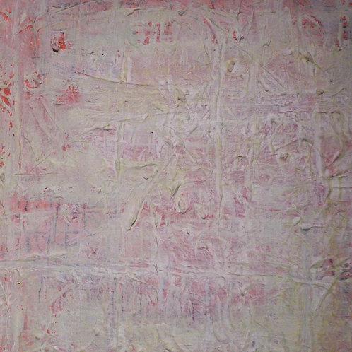 """Pink Mirage"" - Mixed Media"