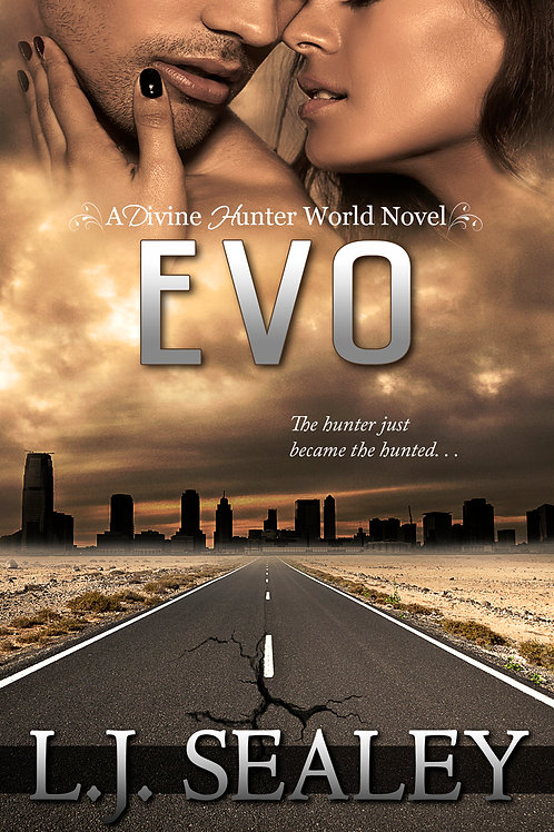 Evo (Divine Hunter #2.5) Signed Paperback
