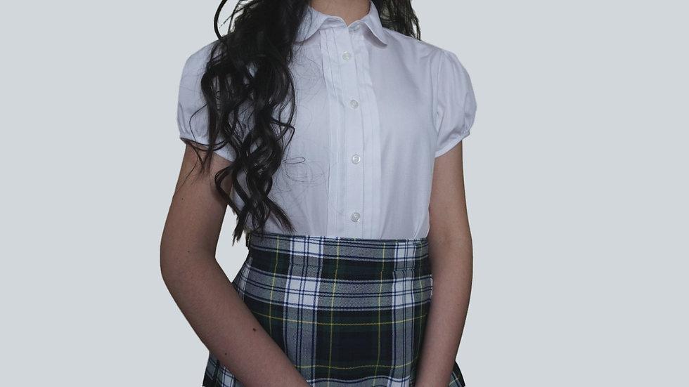 Girl's Dress Shirt - Short Sleeve