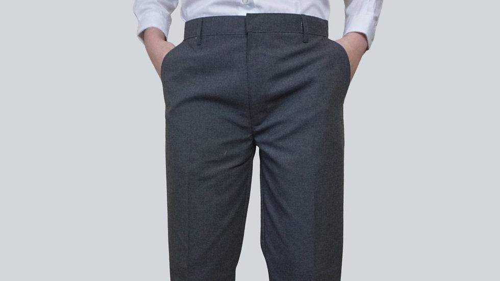 Grey Dress Pants - Boy's