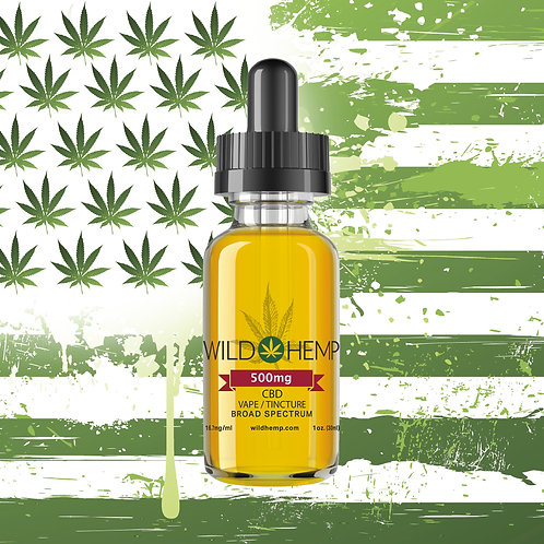 WILD HEMP 30ML - 1000 Mg Broad Spectrum