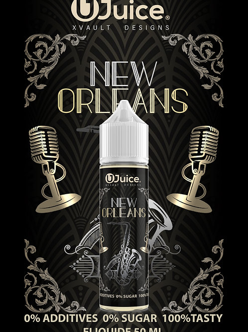 Xvault x Ujuice 50ML - New Orleans