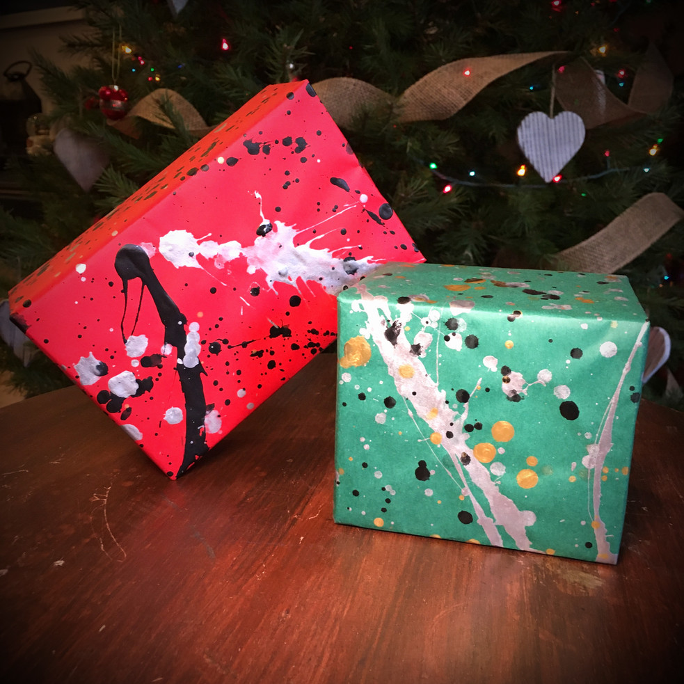 Red & Green wrapped