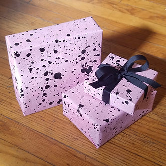 Black on pink wrapped Robi 1.jpg