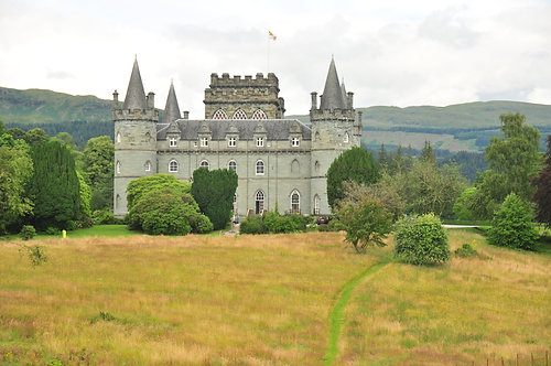 Inveraray Castle Argyll Scotland