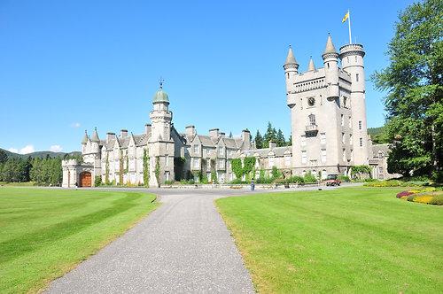 Balmoral Castle Aberdeenshire, Scotland