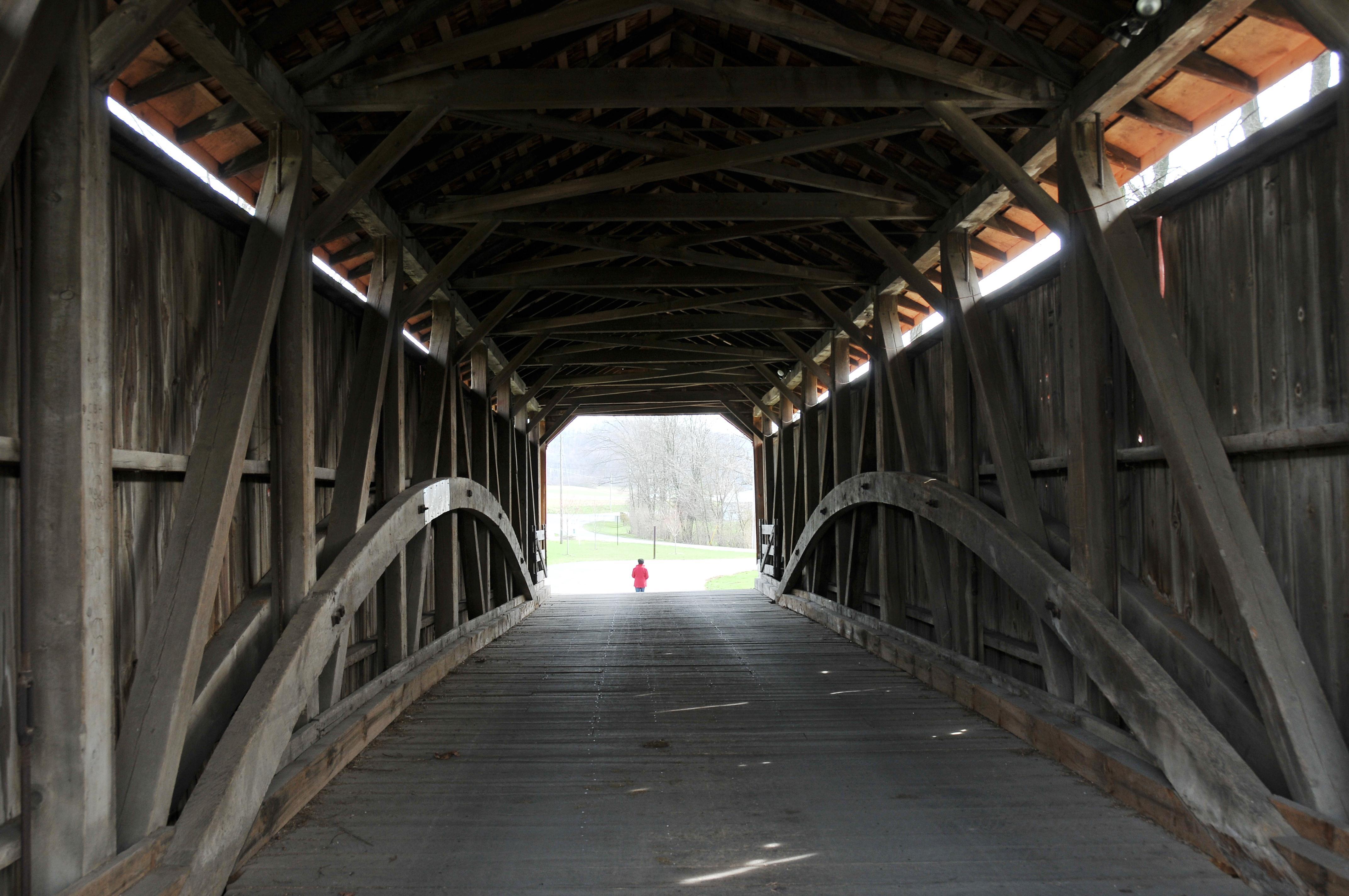 Inside Ephrata Bridge Ephrata, PA