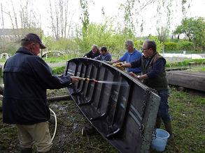 entretien des barques Patrimoine Marais