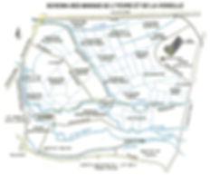 Plan des Marais de Bourges