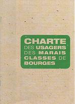 La charte des usagers des Marais de Bourges