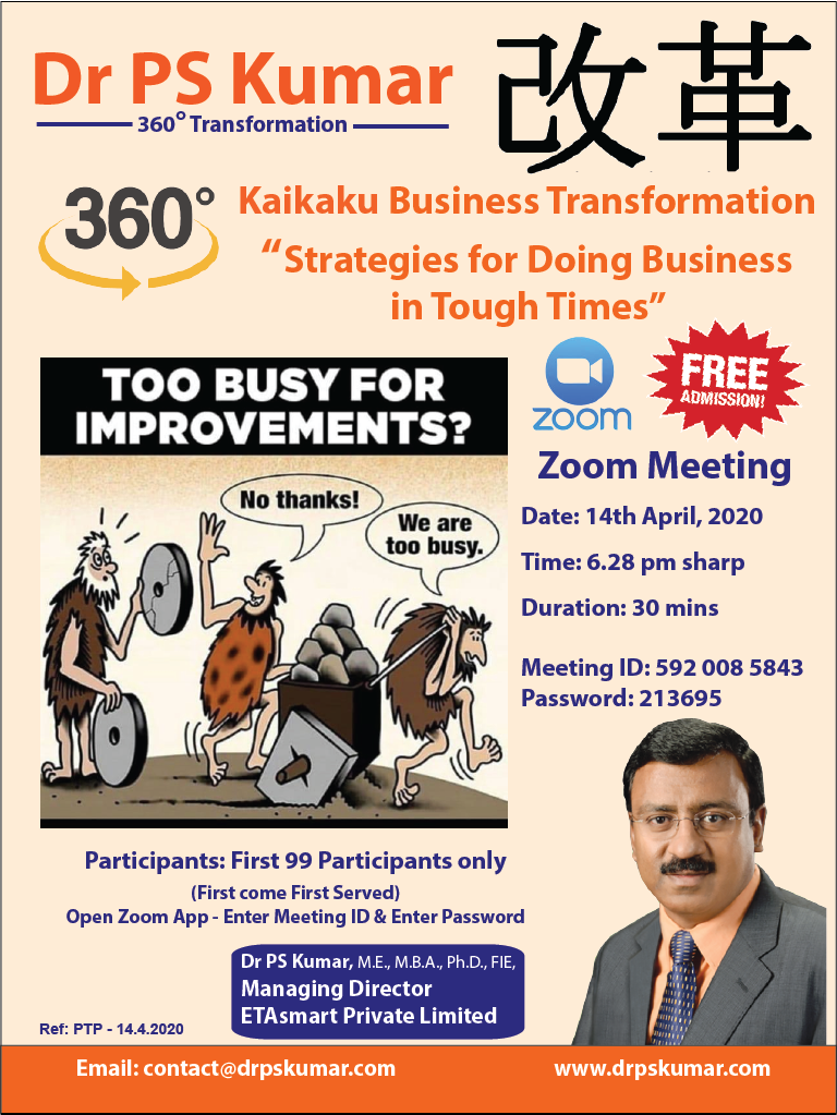 Dr PSK - Business Transformation 14.4.20