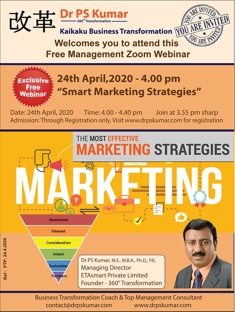Dr PSK - Smart Marketing Strategies - 24