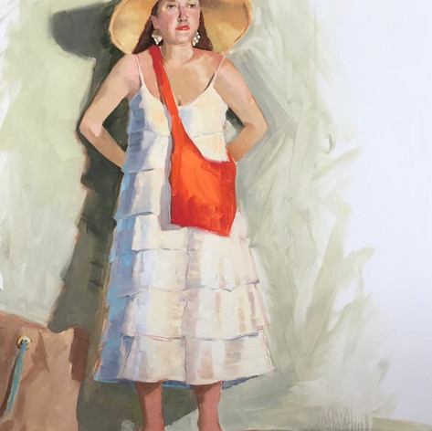 Woman in a Straw Hat (Kerry)