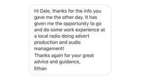 Ethan's Great First Radio Station Placement