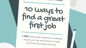 10 Ways to Find a Great First Job