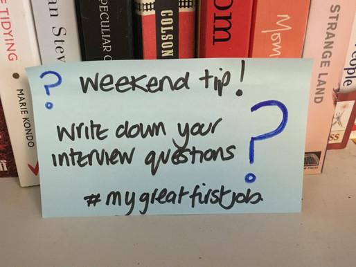 Interview questions....write them down!