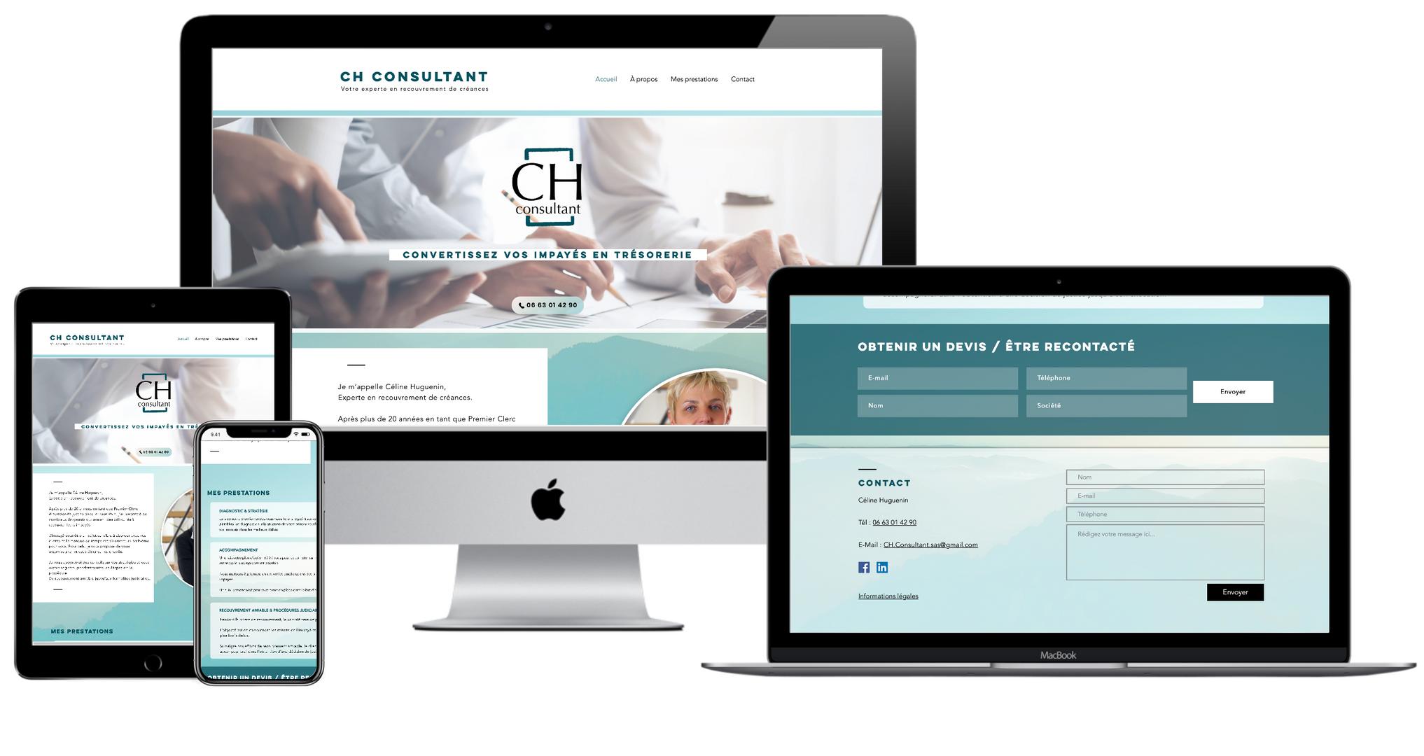 Site web : CH-Consultant