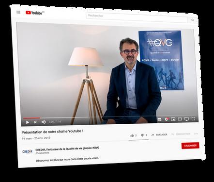 vidéo youtube CREDIR