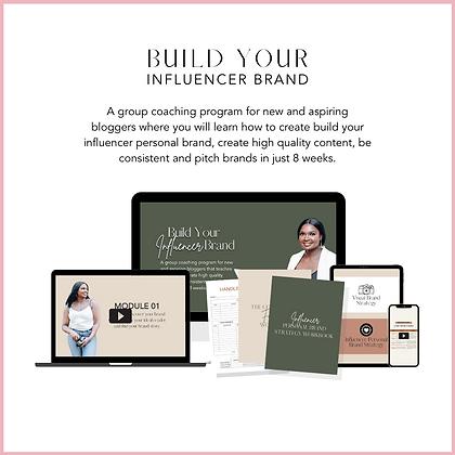 Build Your Influencer Brand