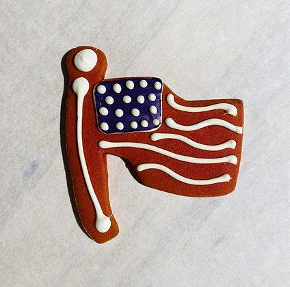 Flag n' Wag Cookie