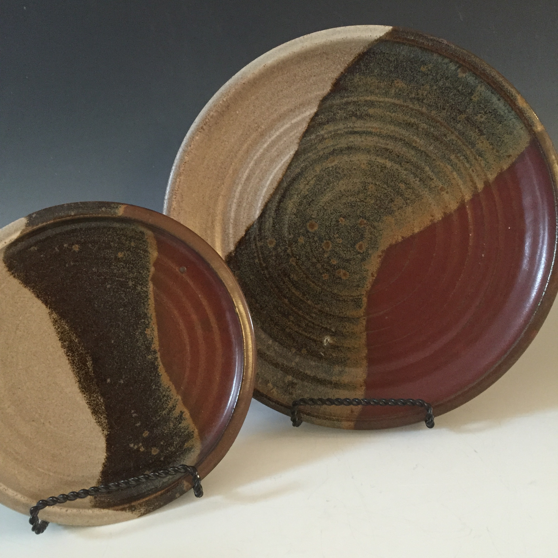 Dinner and Salad Plates Flat Rim