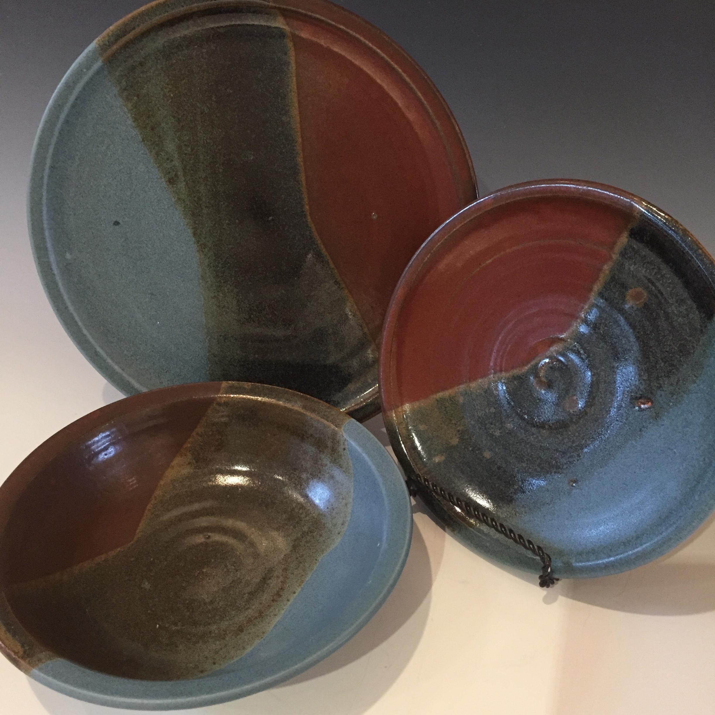 Dinner, Salad Plates & Pasta Bowl