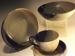 Pasta Bowls and Tea Cup