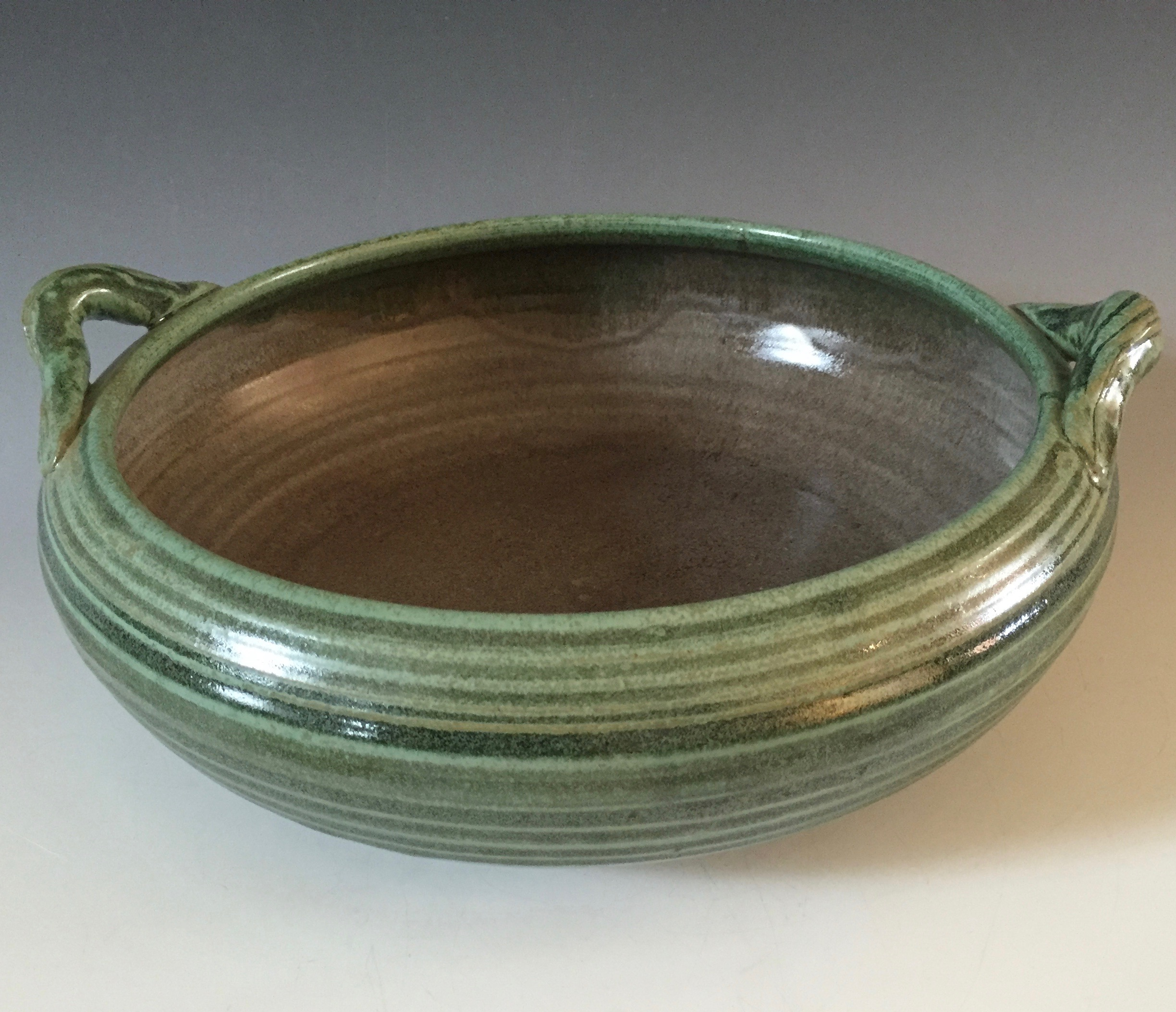 Serving Bowl with Handles - $72