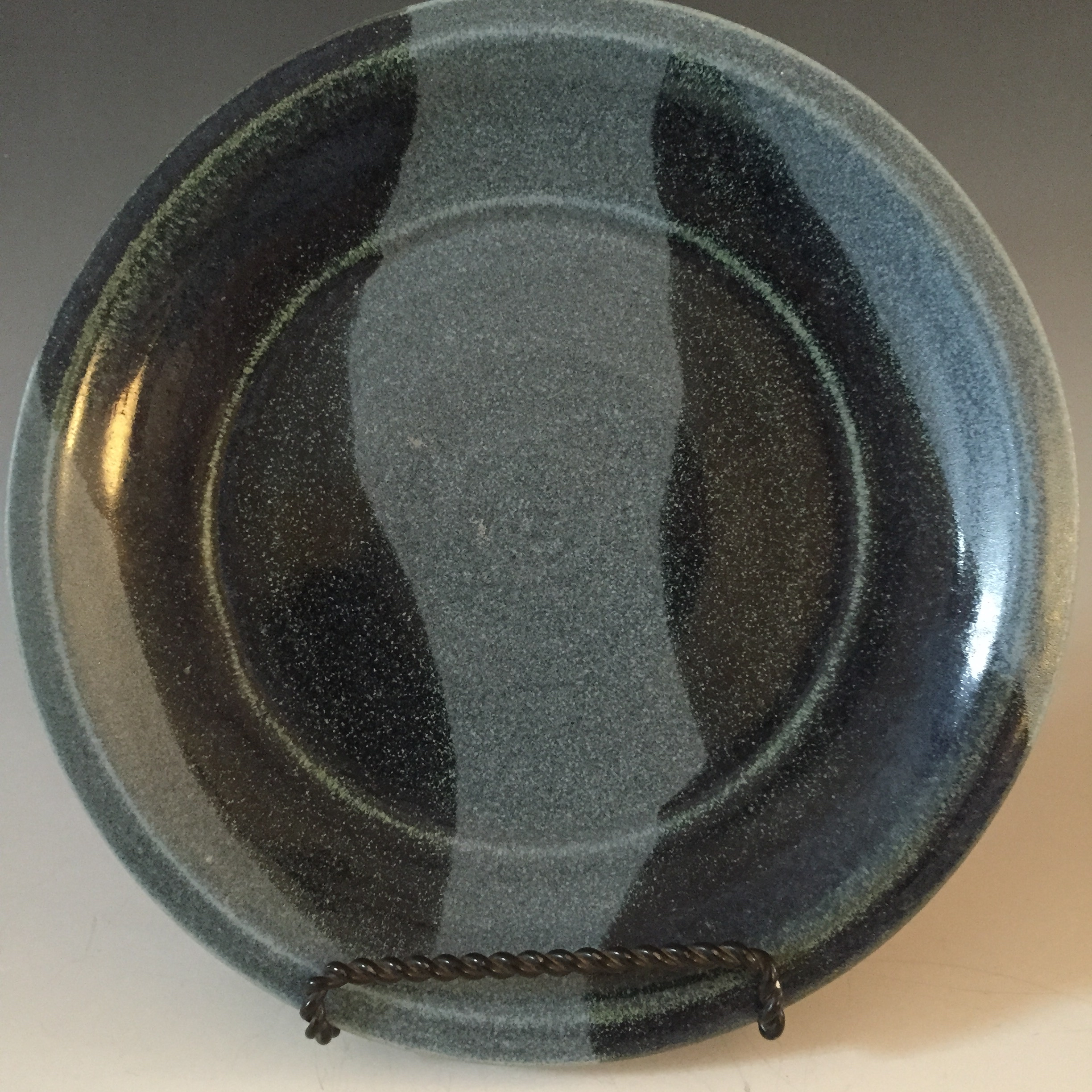 Plate with Flat Rim