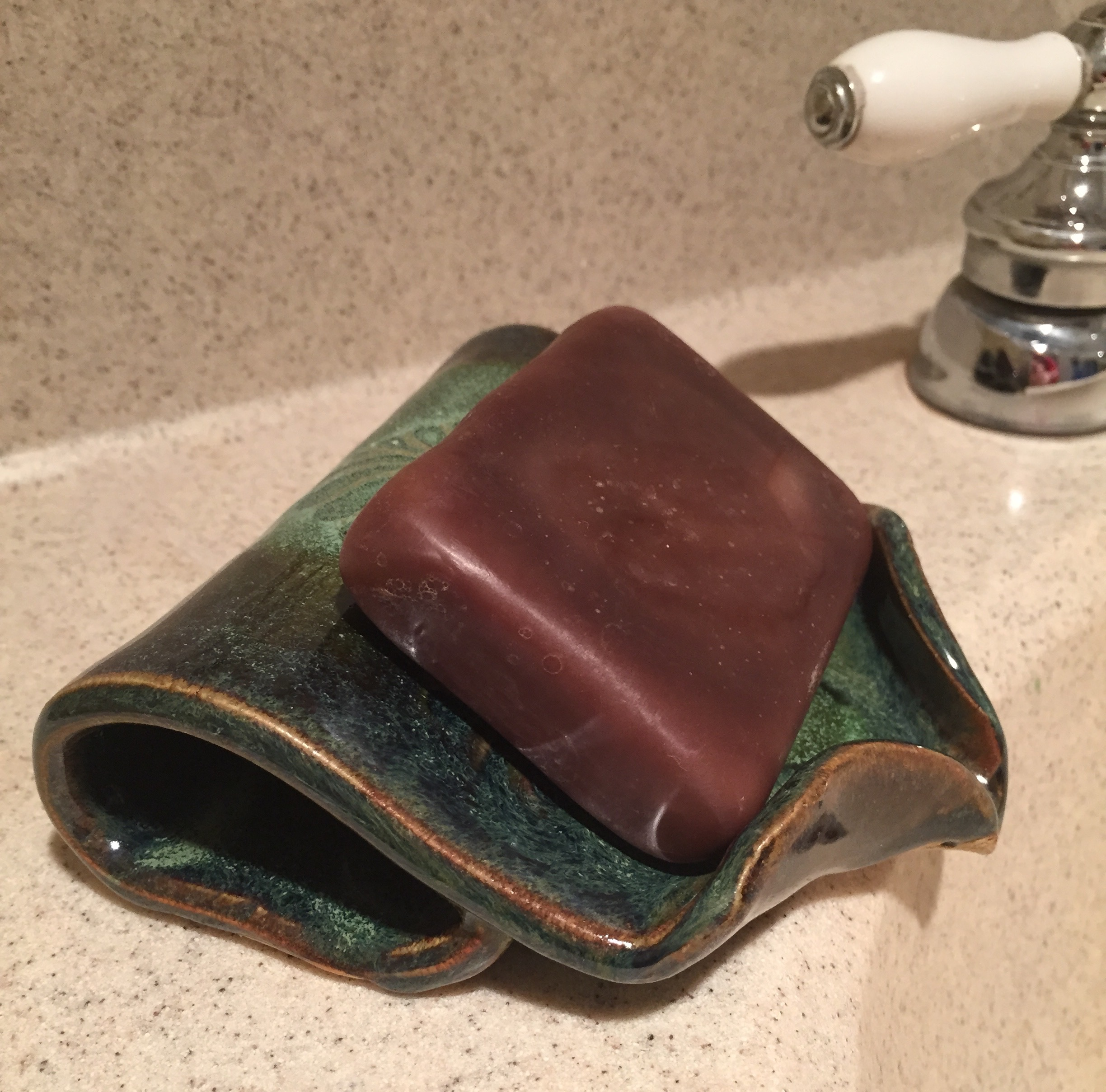 Self Draining Soap Dish $22