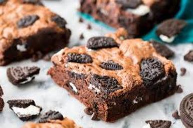 Nutella Oreo Brownies