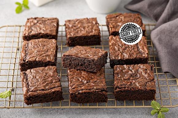 Dairy-Free Brownies (Box of 10)