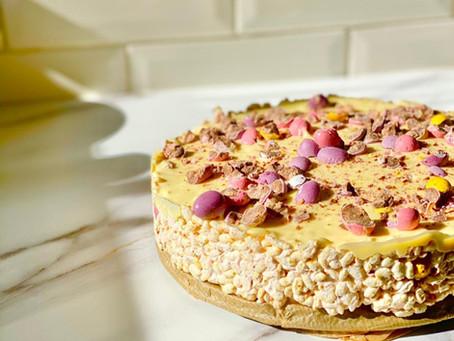 Easy Vegan Easter Cake