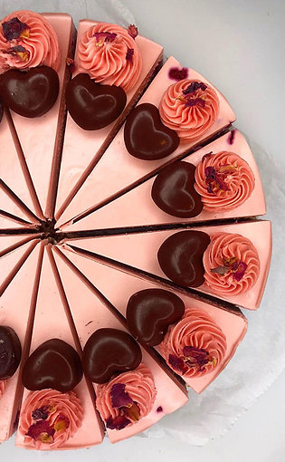 "Chocolate and Rose ""Cheesecake"""