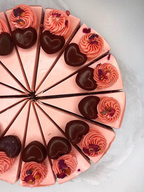 "Chocolate and Rose ""Cheesecake"""