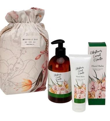 Bramble bay gift bag elderflower, coconut & vanilla