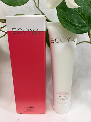 Guava and Lychee Ecoya Handcream