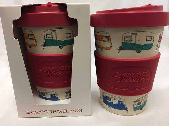 Van go reusable travel mug