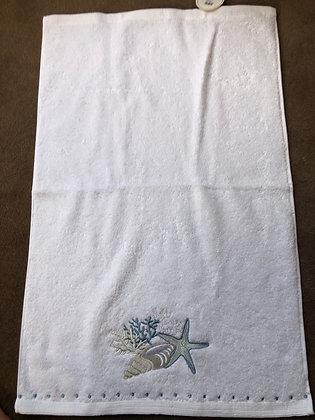 Seaside hand towel