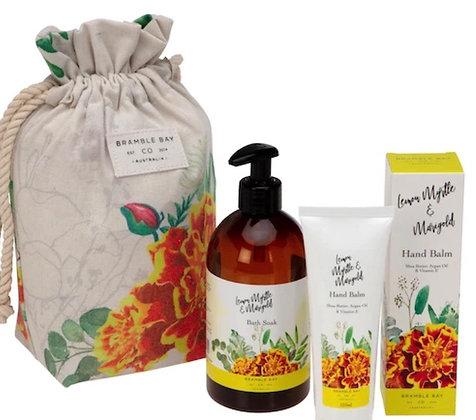 Bramble bay gift bag, lemon myrtle & marigold